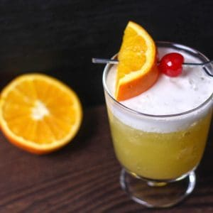 Orange Whiskey Sour Recipe