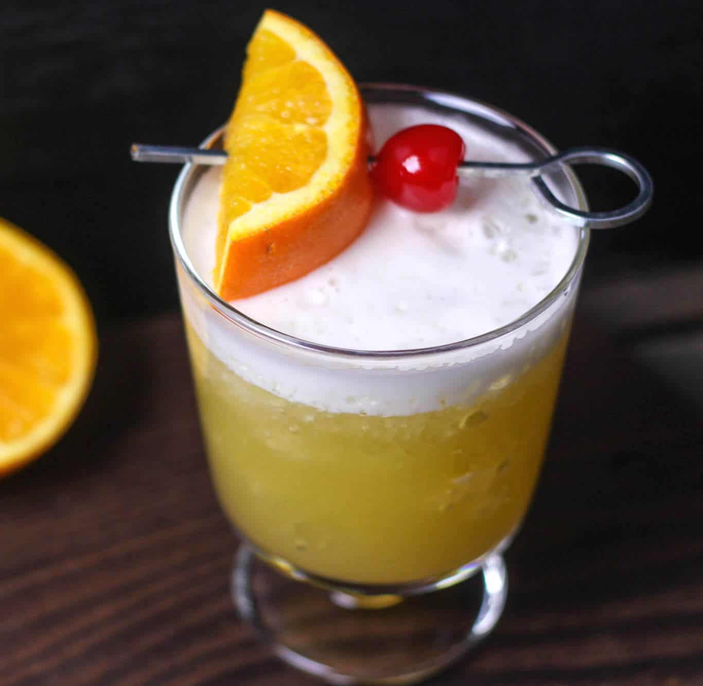The classic whiskey sour recipe has egg white in it. Did you realize ...