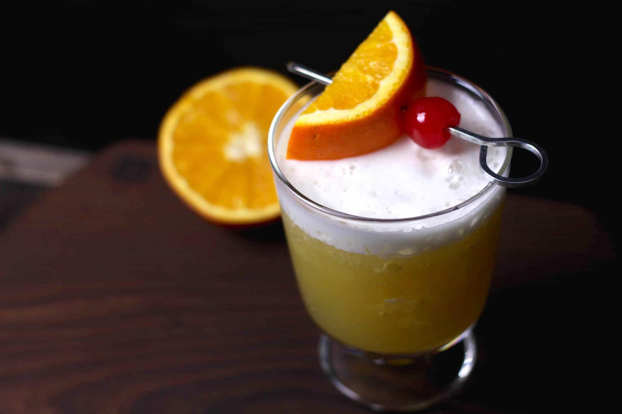 Orange Whiskey Sour Recipe Diy Candy