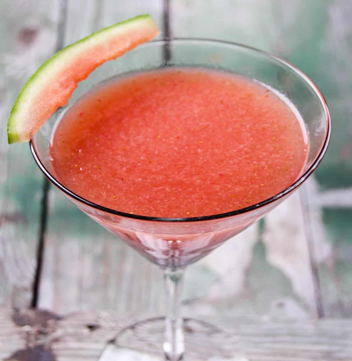fresh watermelon vodka drinks