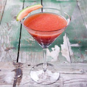 Strawberry Watermelon Vodka Smoothie
