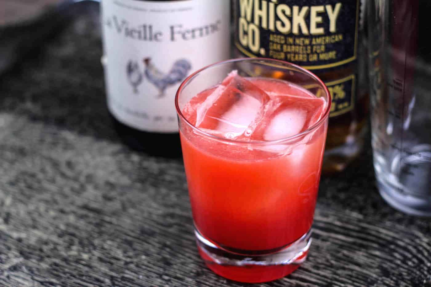 sour cherry cocktail