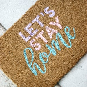 Cute Personalized Door Mat