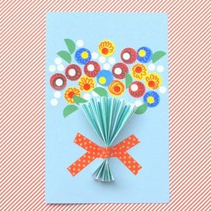 Floral Handmade Mother's Day Card