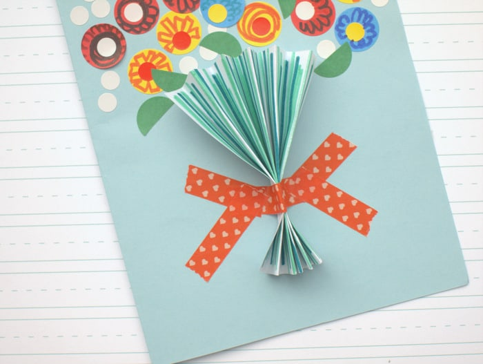 Floral Handmade Mother S Day Card So Easy Diy Candy