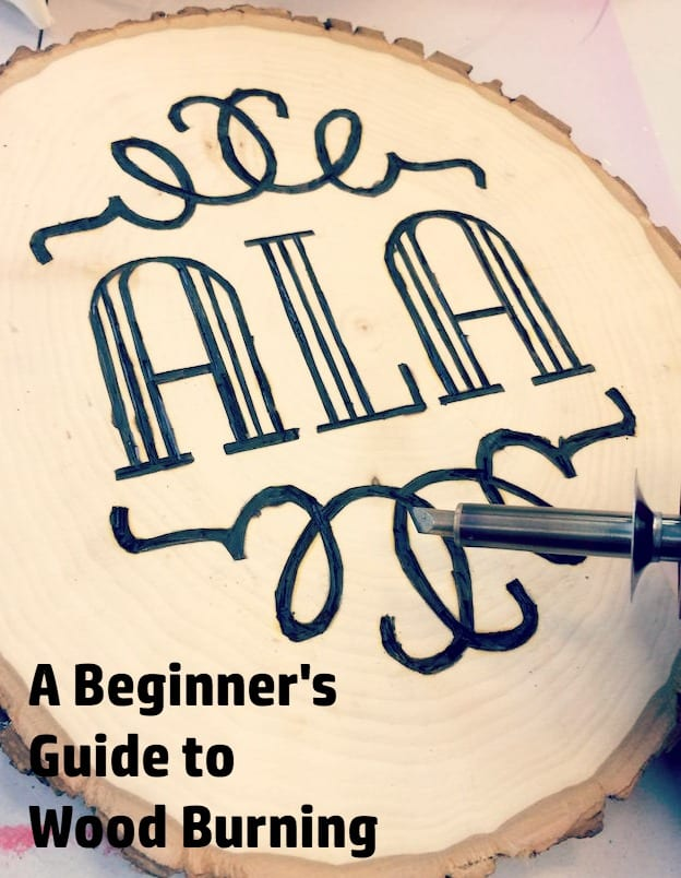 Are you ready to try wood burning? I give you my top tips in this article, and show you how I made a monogram plaque. I absolutely love the results!