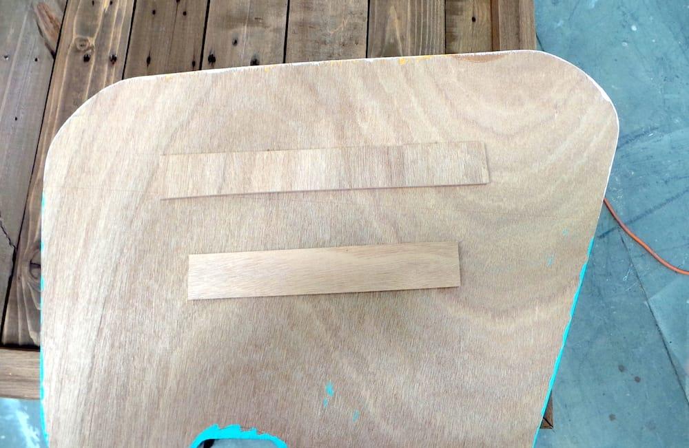 Camper pallet art step 17