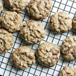 What's better than chocolate chip cookies? Chocolate chunk cookies - with oatmeal!! This is the best cookie recipe you'll ever have. So delicious!