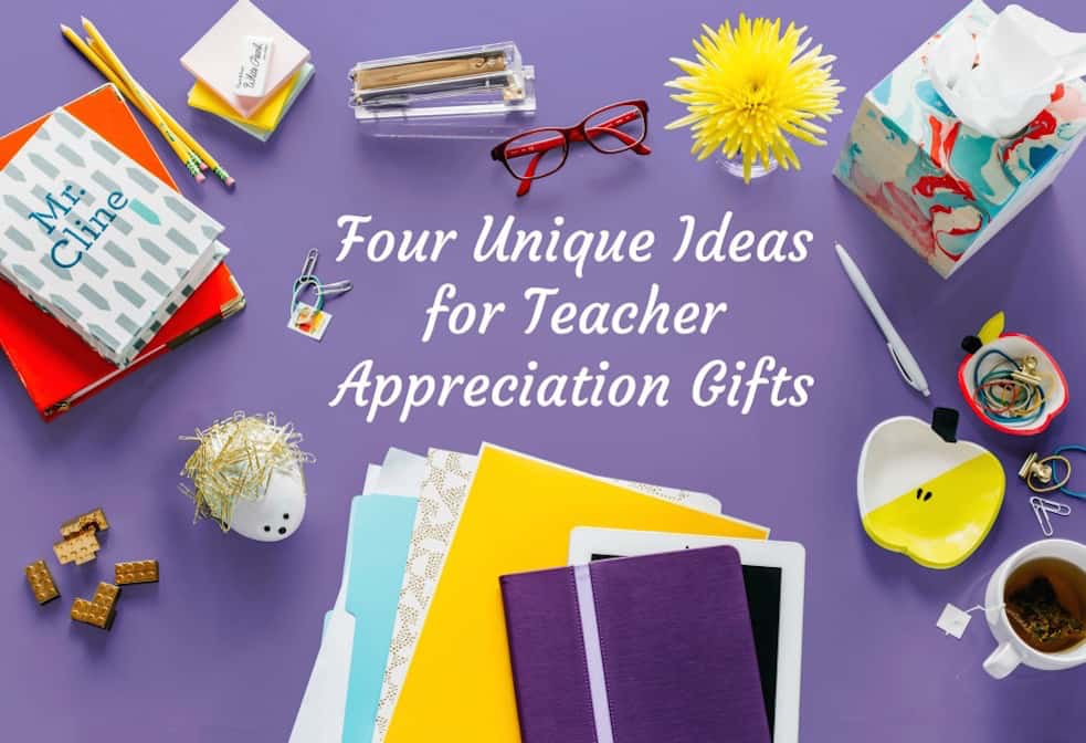 These are the cutest teacher appreciation gifts you'll ever see - and the kids can help make them. Pick your favorite to make out of four unique options!