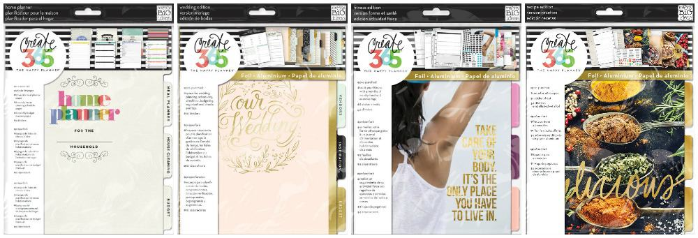 Happy Planner extension packs