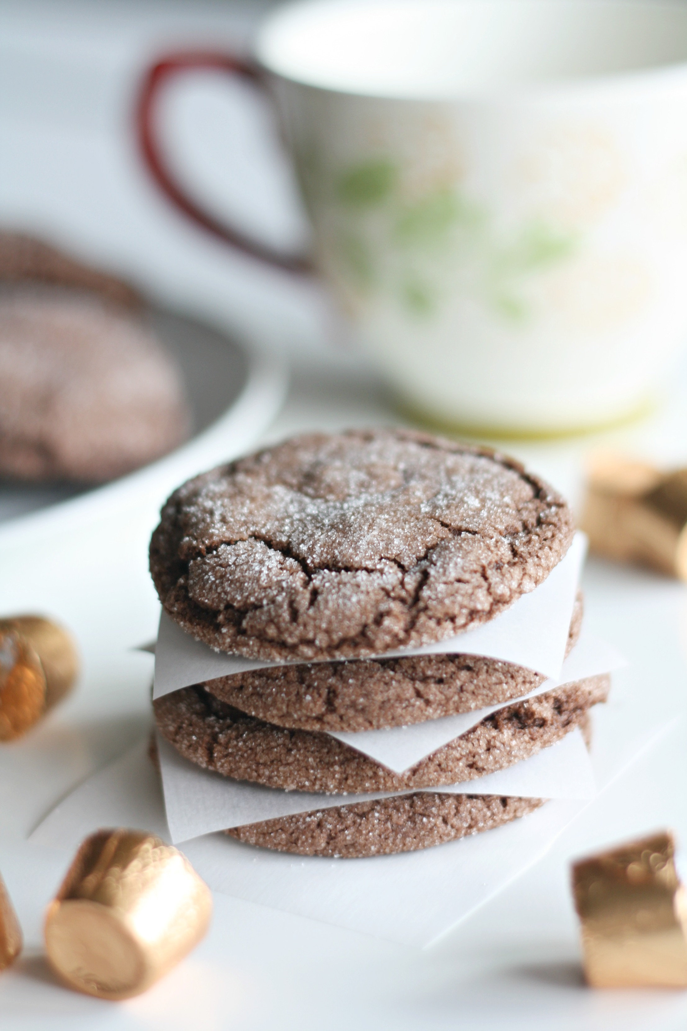 Delicious chocolate cookies made with Rolos