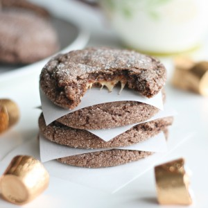 Five Ingredient Rolo Cookies Recipe