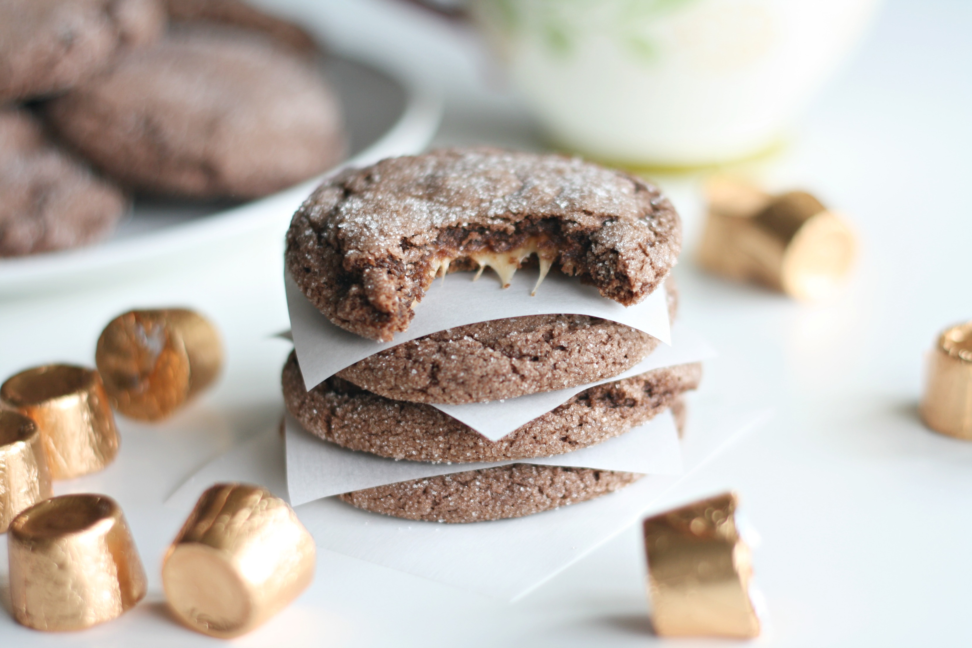 Best & Easiest Five Ingredient Rolo Cookies Recipe