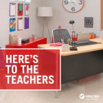 Enter to win the VELCRO® Brand Classroom Makeover contest! This program re-designs education spaces and turns them into inspiring places for learning.