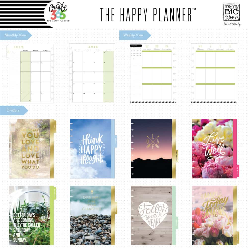 All About The Happy Planner - DIY Candy