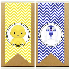 Free Star Wars Printables – Lunch Bag C...