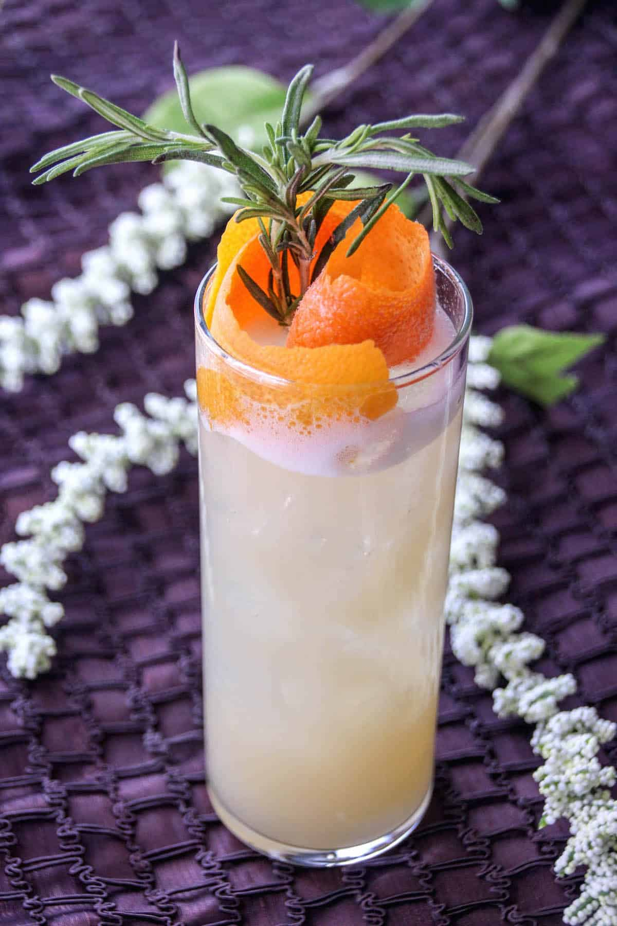 Named for the vodka and Kinky Gold found within, this orange and grey coconut cocktail recipe is a delicious and refreshing summer treat!