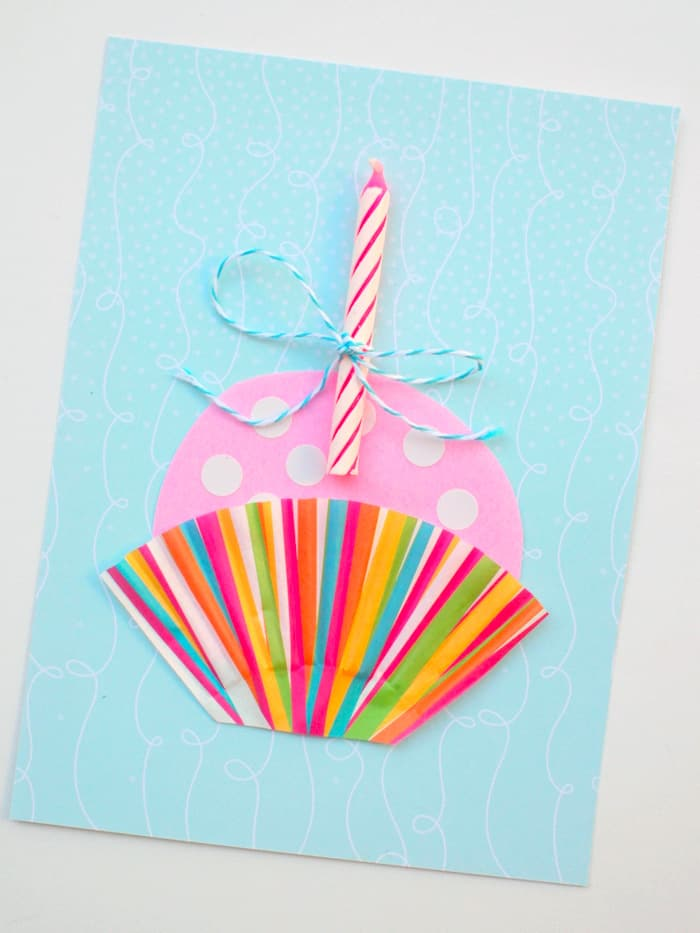 Make a cupcake card
