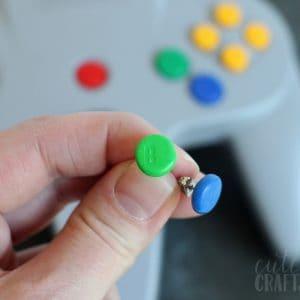 Geek Crafts: Clay Nintendo Earrings