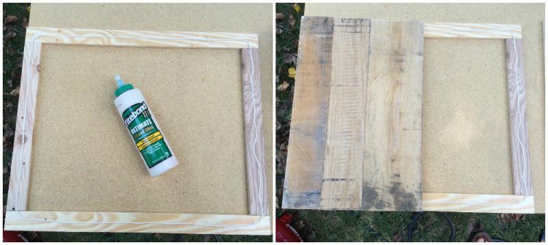 Glue panels