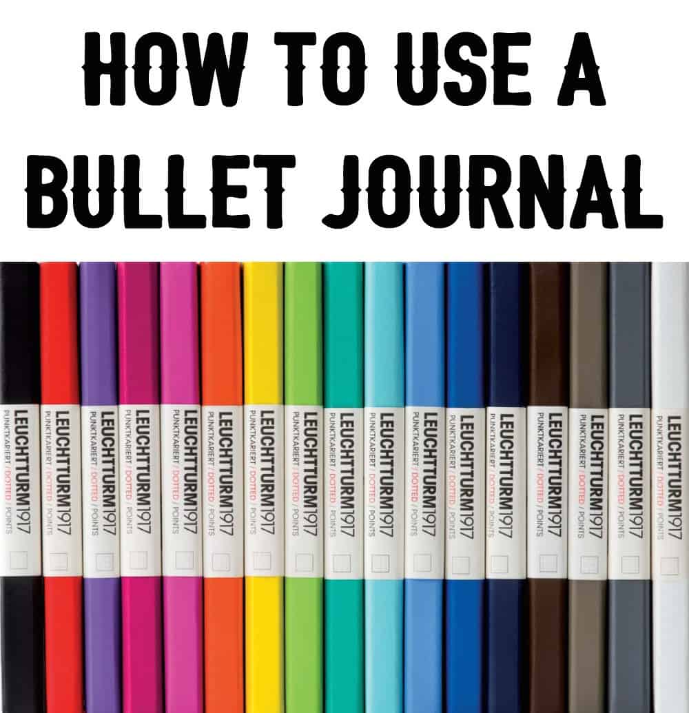 how to use a bullet journal. Black Bedroom Furniture Sets. Home Design Ideas
