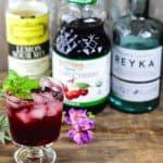 Cherry Vodka Sour Ingredients