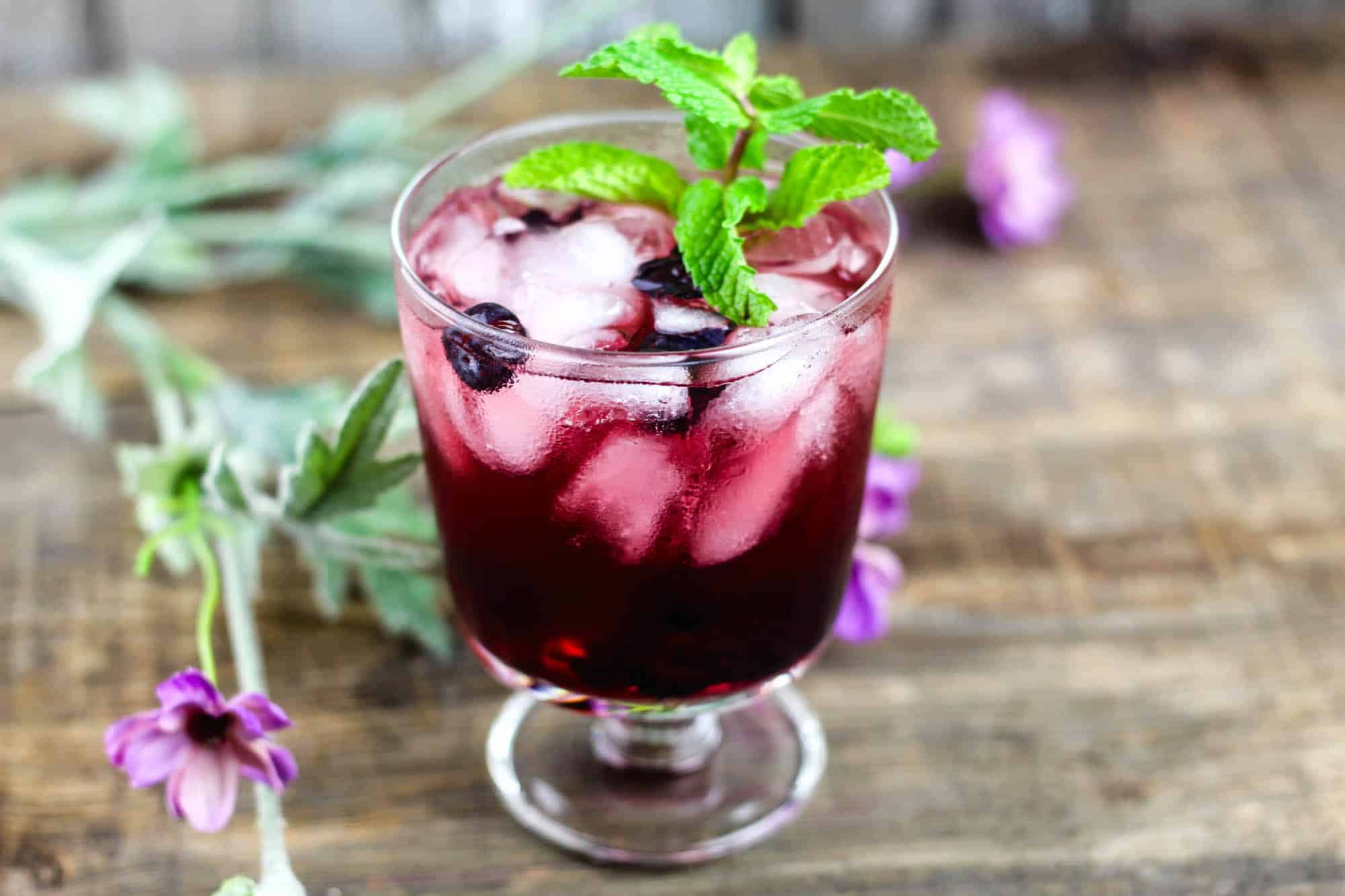How to make a cherry vodka sour