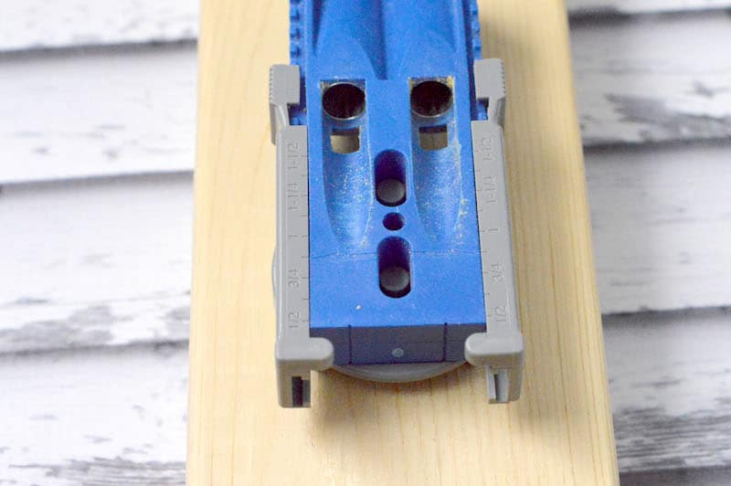 Learn all about the pocket hole jig - otherwise known as a Kreg Jig! Use this tool to make your woodworking strong and tight with (almost) invisible screws. It's easy enough for even a novice woodworker to use!