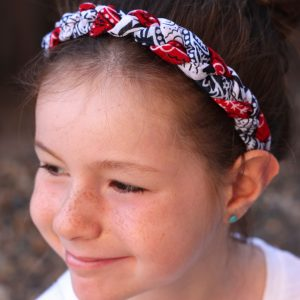 Red, White and Blue Bandana Headbands