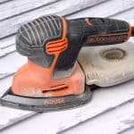 Black and Decker hand sander
