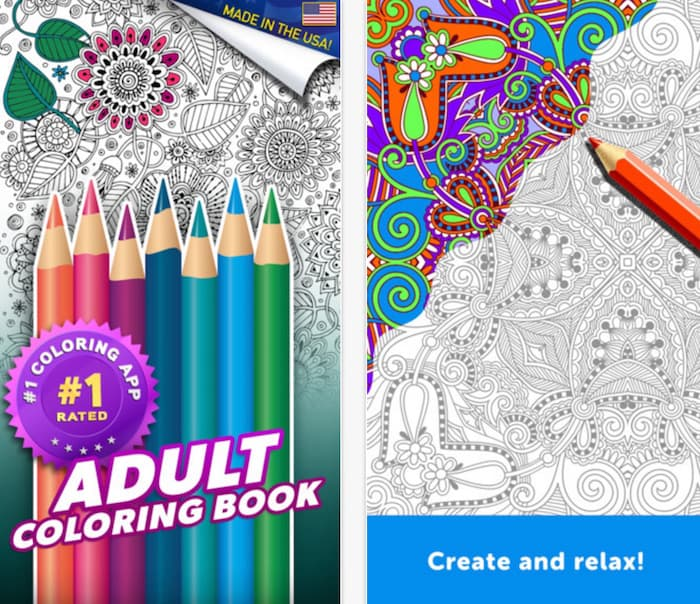 Adult Coloring Book App