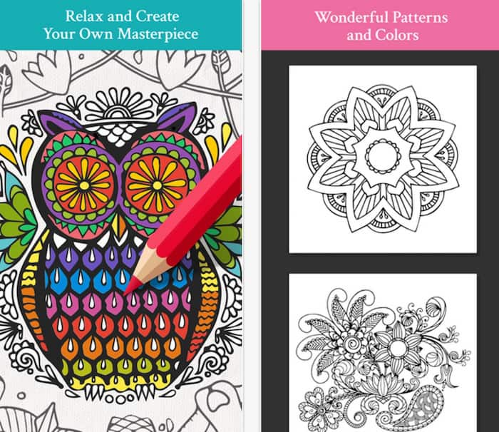 Free coloring apps - Color ME