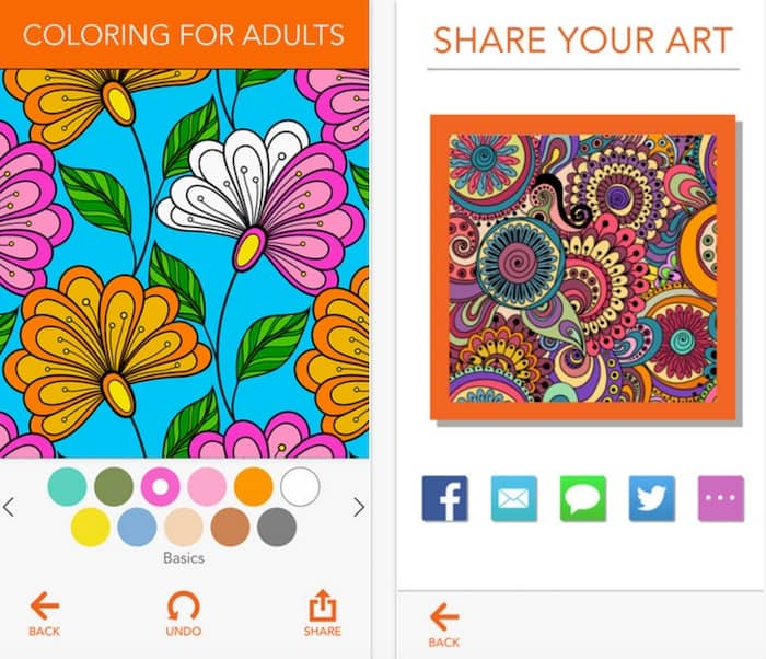 ColorArt app - coloring for adults