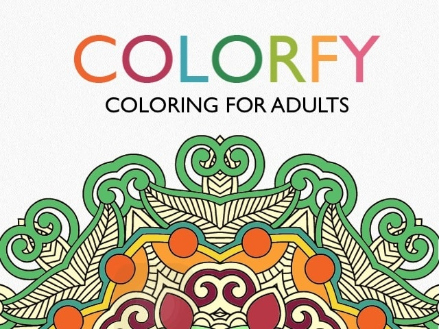Adult Coloring Apps - Colorfy