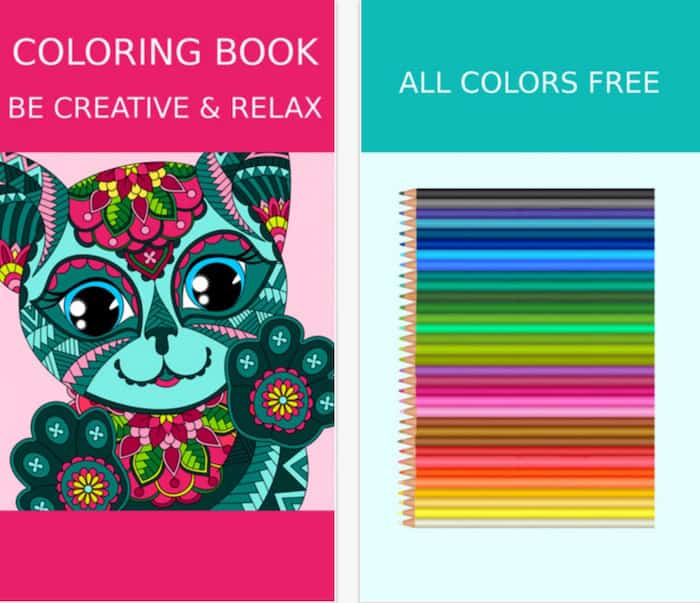 Coloring Book App COLORING BOOK FOR ADULTS