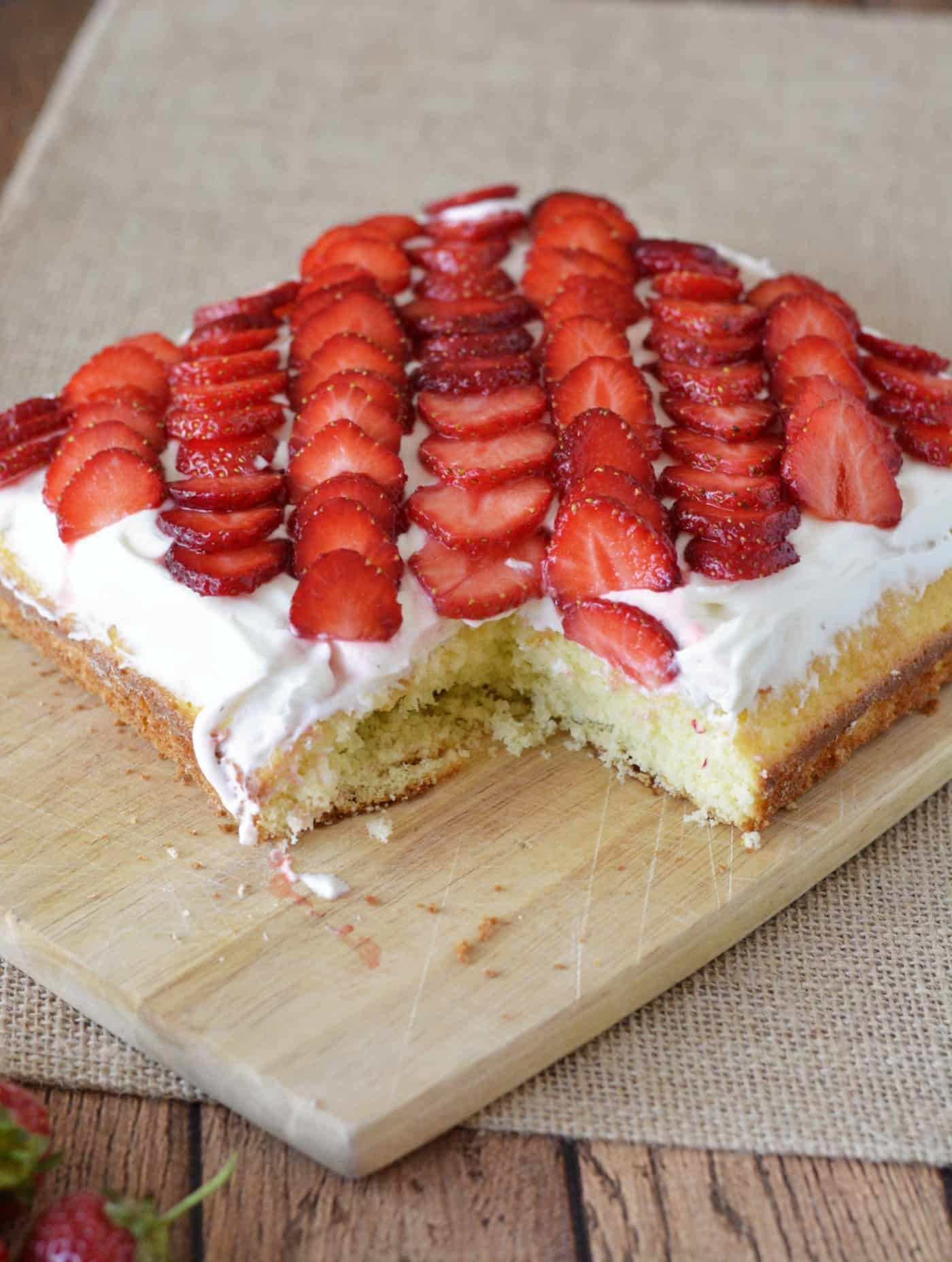 This Strawberry Cake Recipe Is A Showstopper Its Moist And Delicious