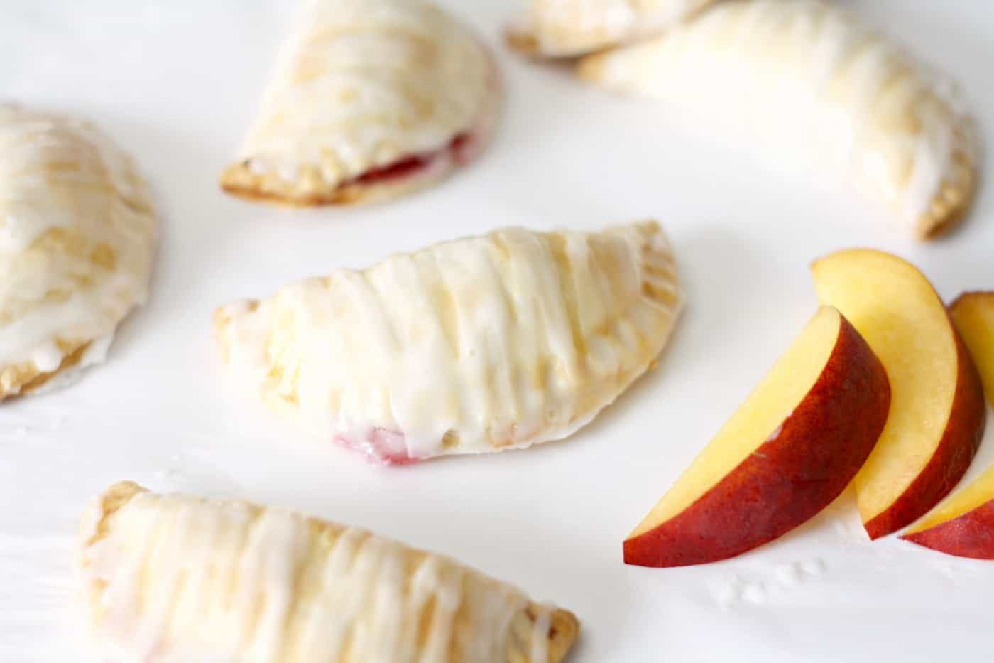 Fresh Peach and Raspberry Mini Pie Recipe
