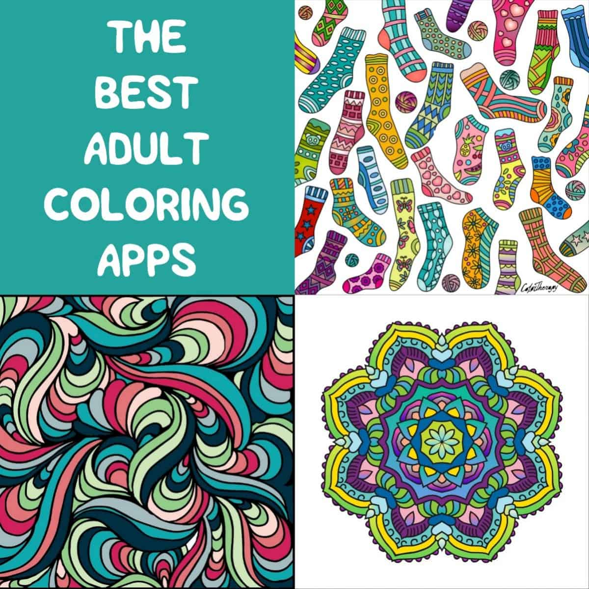 The best adult coloring apps Coloring book for adults app