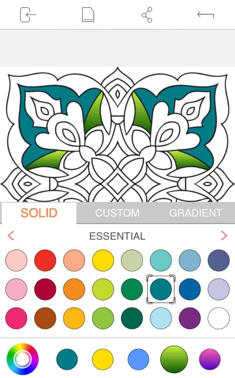Adult Coloring Apps - Colorfly