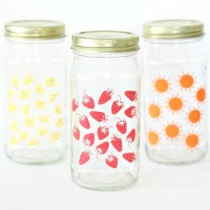 Summer Craft: Glass Jar Set