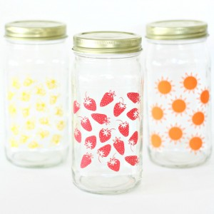 Summer Craft: Glass Jar Set
