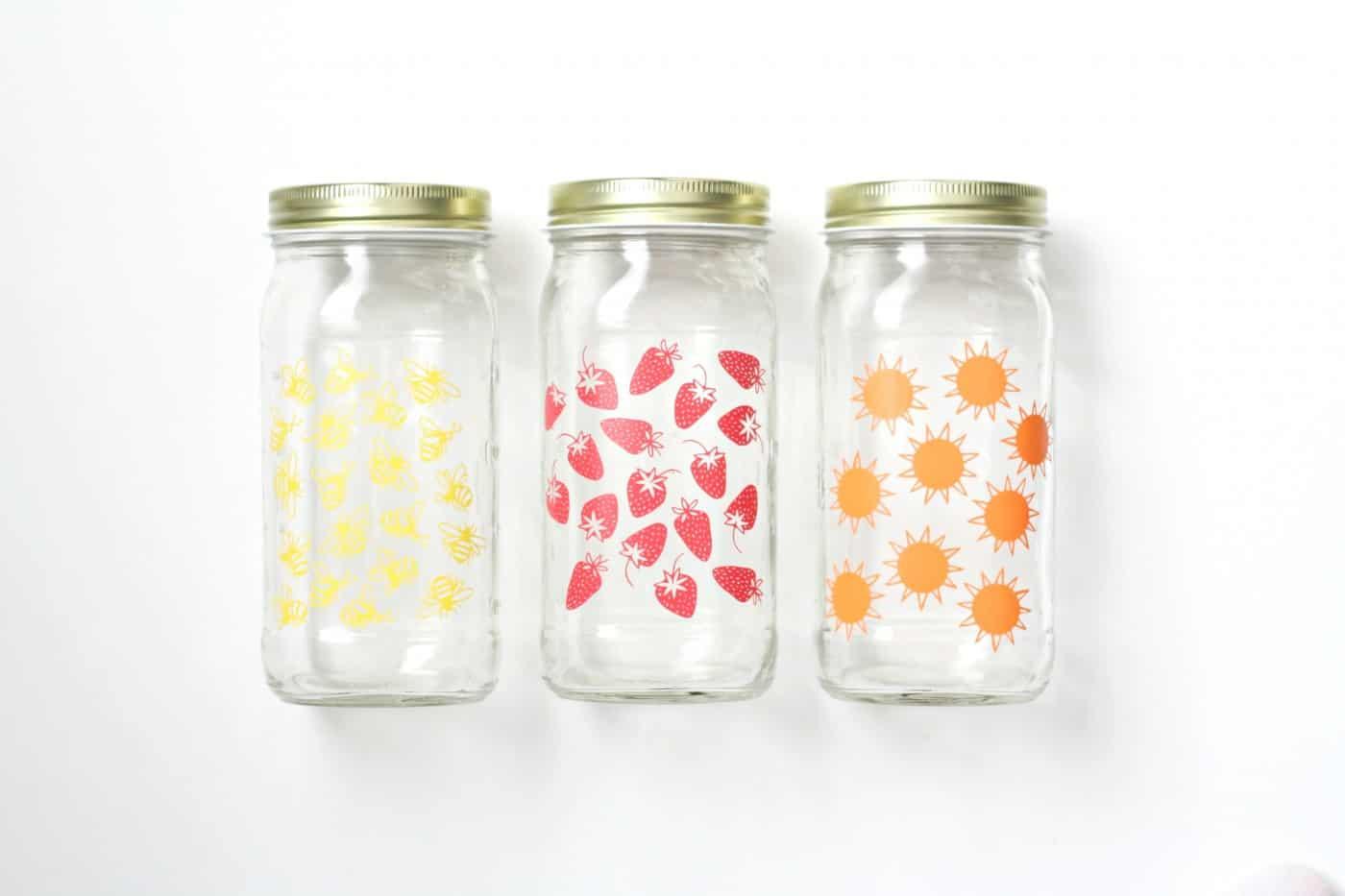 Summer Craft Glass Jar Set Diycandy Com