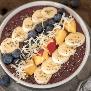 Filling Blueberry Smoothie Bowl Recipe