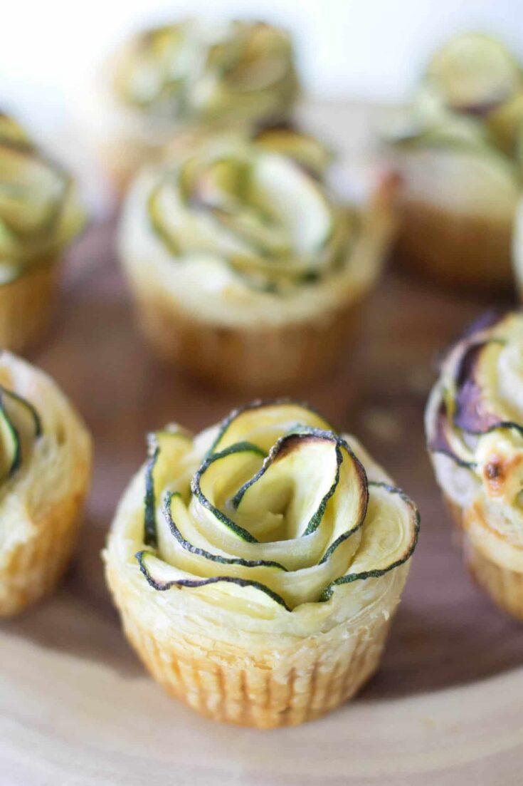 Zucchini Puff Pastry Appetizer