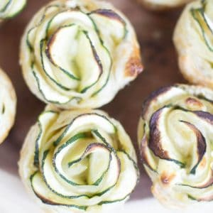 Zucchini Puff Pastry Appetizers