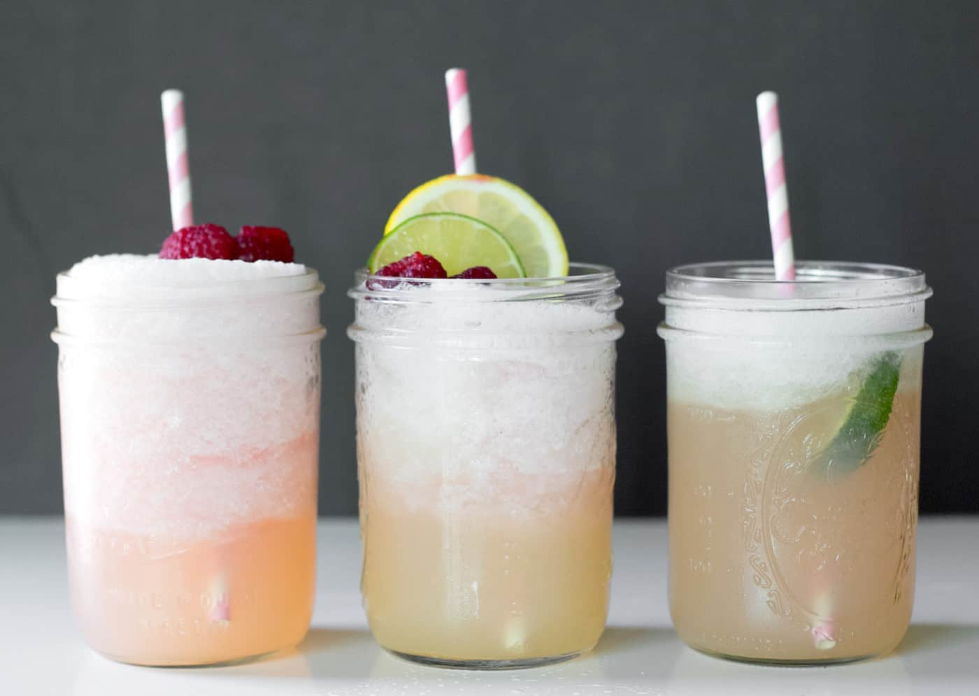 This margaritas recipe always gets compliments! The raspberry lemonade gives it the perfect amount of sweet and tart. So refreshing and perfect for summer!