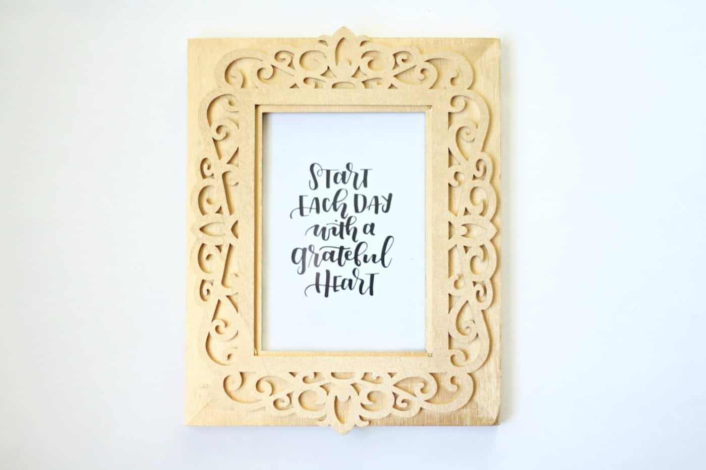 Make a 14K Gold DIY Picture Frame - DIY Candy