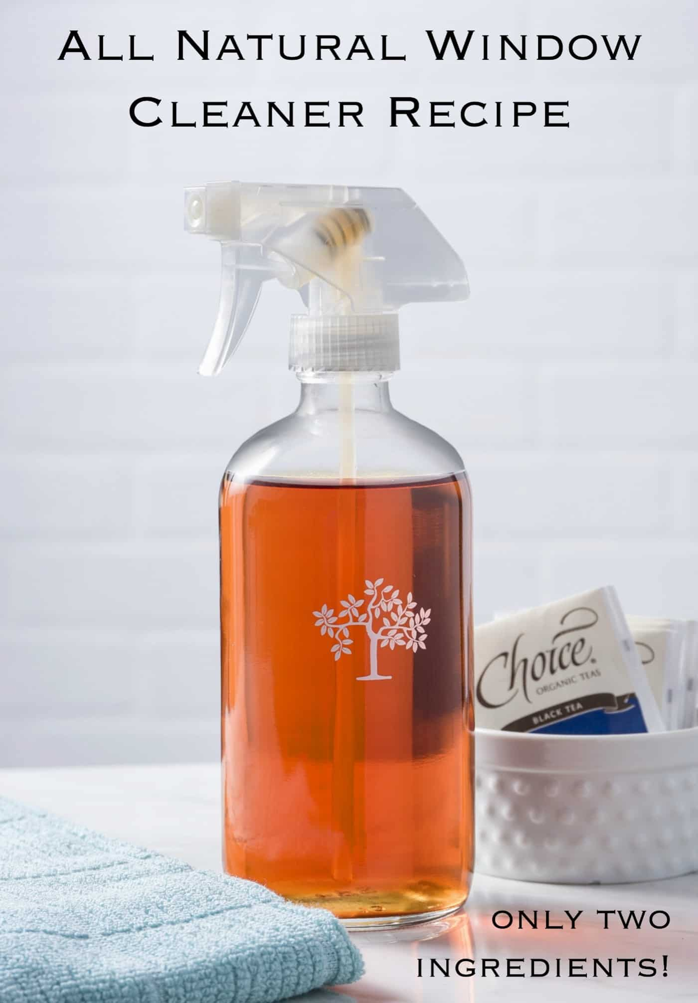 If you get headaches from cleaners like I do, you'll want to try this all natural window cleaner recipe. Only two ingredients, and smells great!