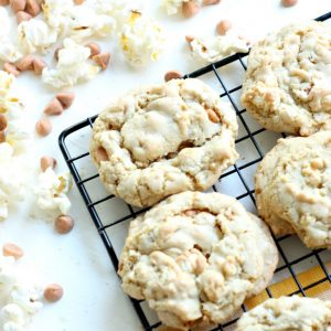 Buttered Popcorn and Butterscotch Cookies