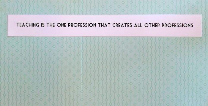 Dry erase and chalkboard teacher gift 8